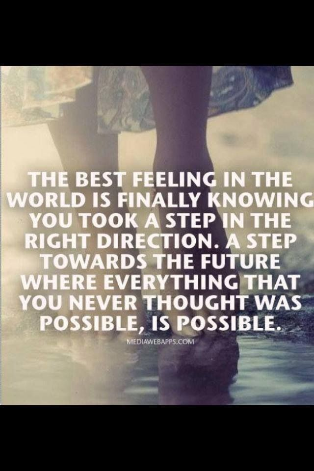 Taking The First Step ...