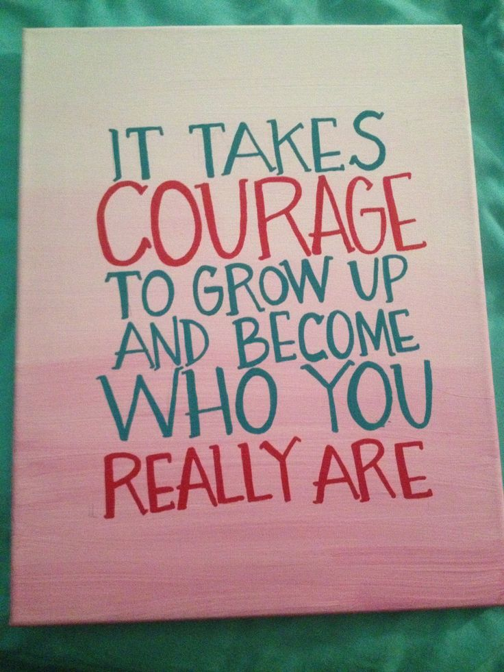 Diy Quotes On Canvas Quotesgram