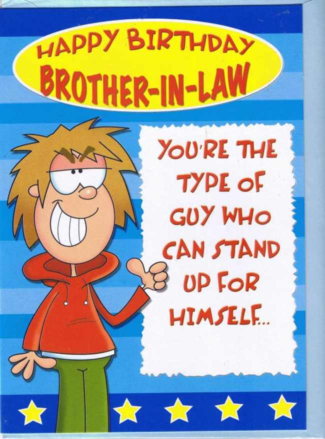 Happy Birthday Brother In Law Quotes Funny Quotesgram