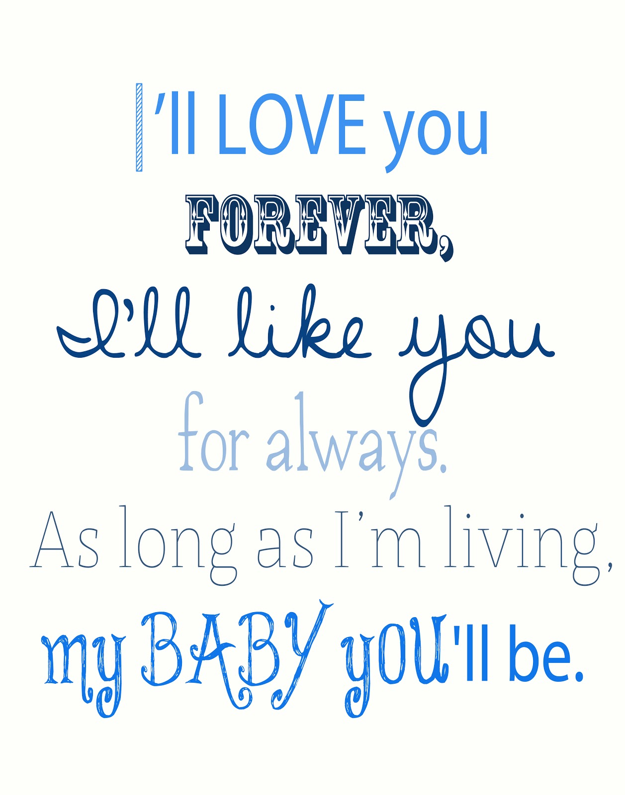 Love My Baby Boy Quotes Quotesgram