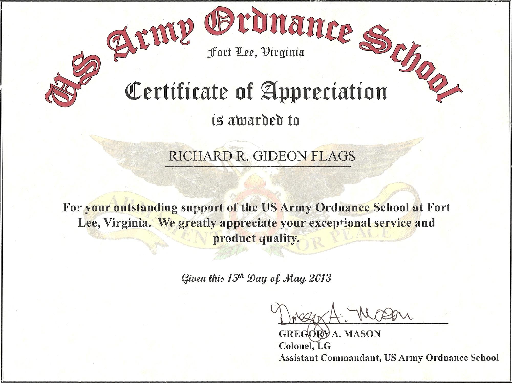 Certificate Of Appreciation Quotes. QuotesGram Regarding Long Service Certificate Template Sample