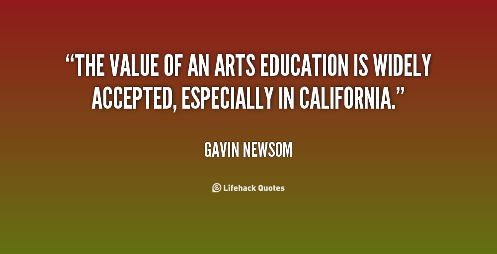 The value of education and a