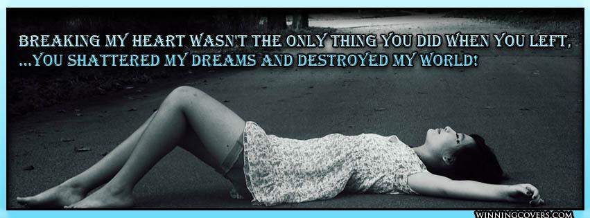 Sad Girl Broken Heart Quotes Quotesgram