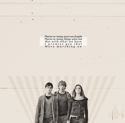 Harry Potter Friendship Wallpaper Quotes: Quotes About The Golden Trio. QuotesGram