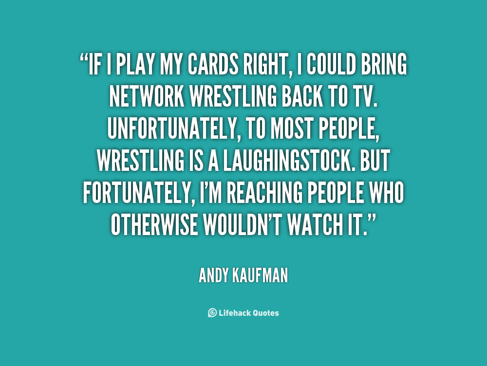 Quotes About Playing Cards. QuotesGram