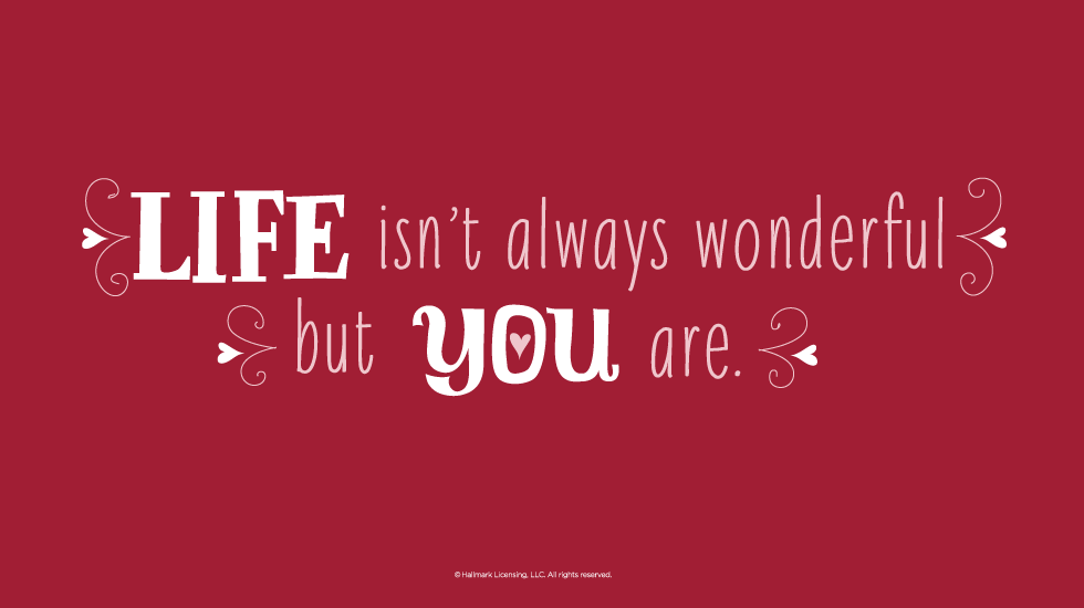 You Can Give A Great And Wonderful Christmas If You: Hallmark Quotes About Life. QuotesGram
