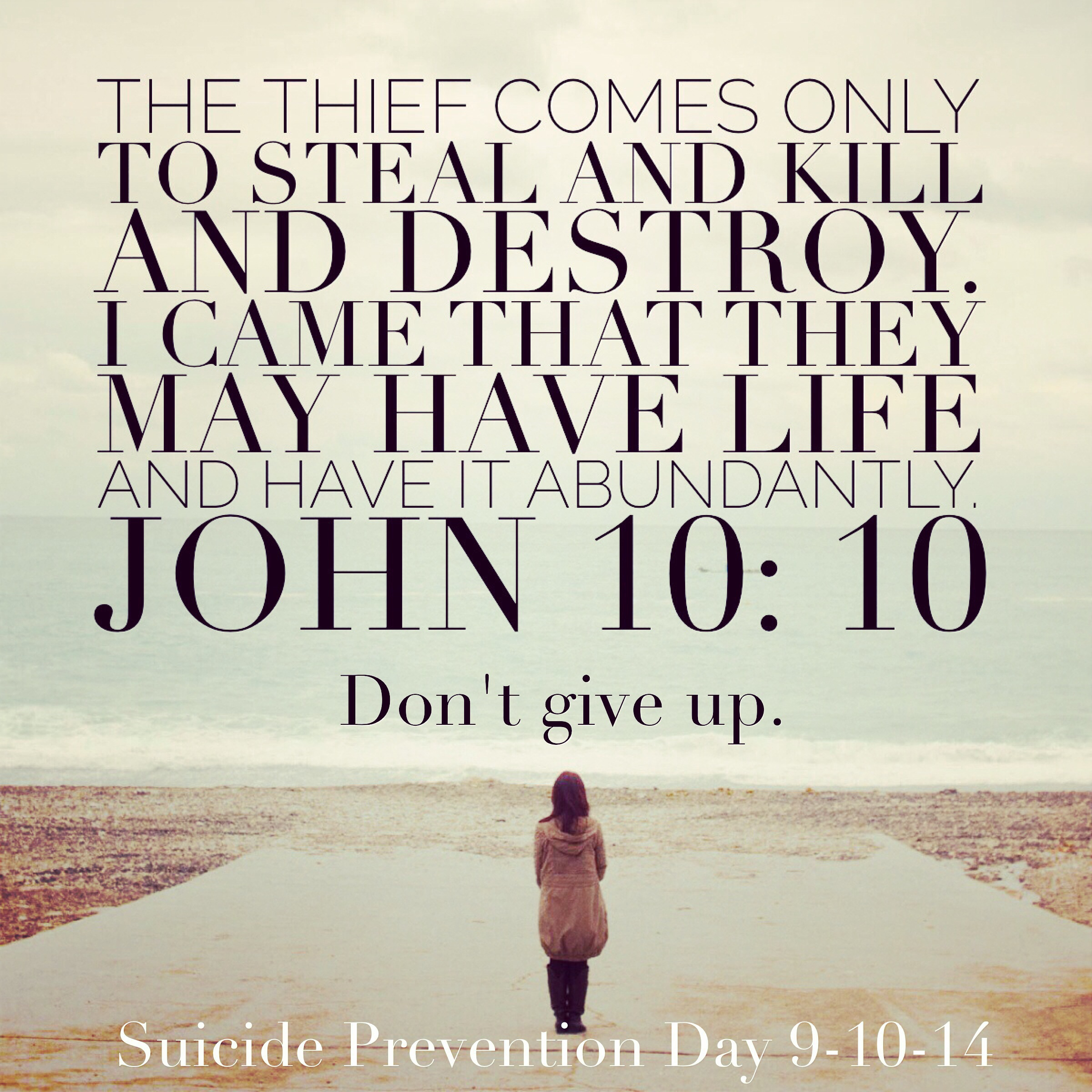 Biblical Quotes Against Suicide. QuotesGram