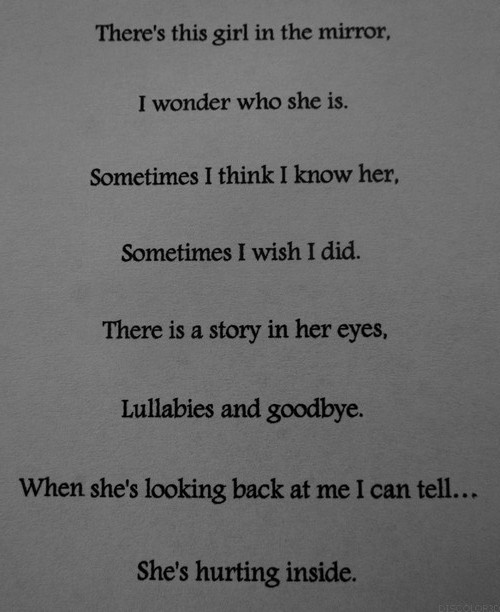Quotes About Hurting Inside. QuotesGram