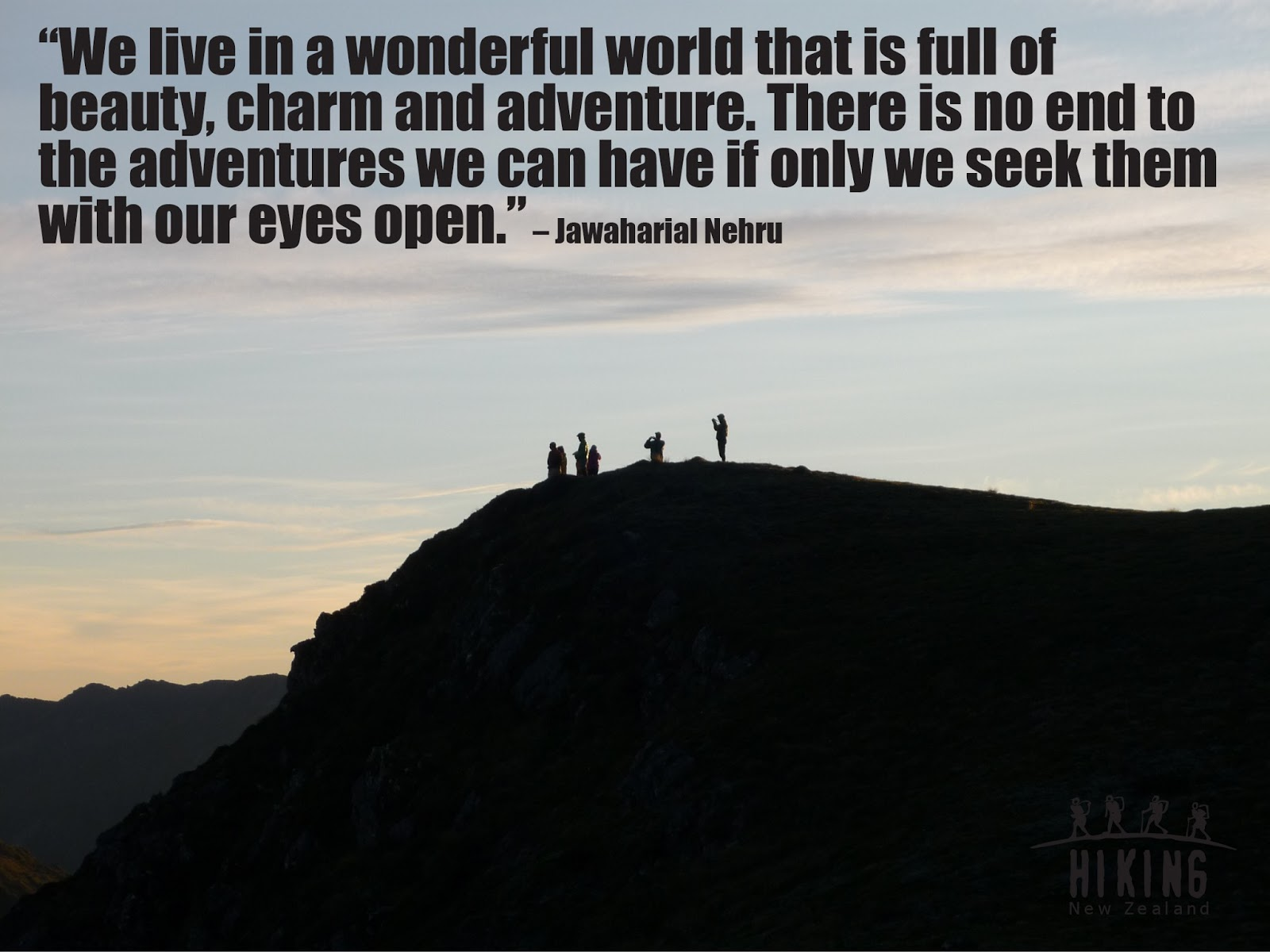 Famous Quotes About Hiking. QuotesGram