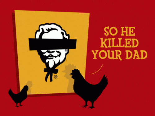 Fried Chicken Funny Quotes: Kfc Funny Quotes. QuotesGram