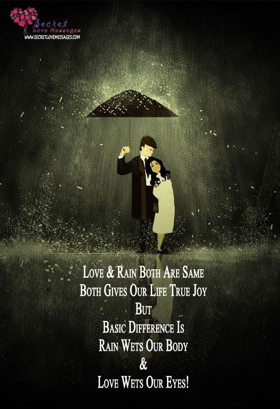 Quotes About Love And Rain. QuotesGram