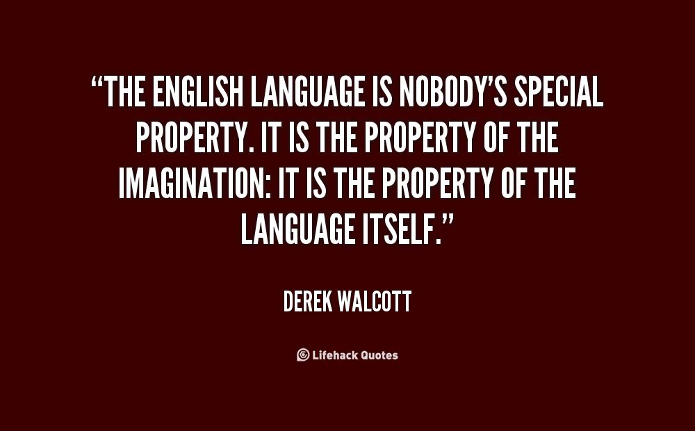 Love Derek Walcott Quotes. QuotesGram