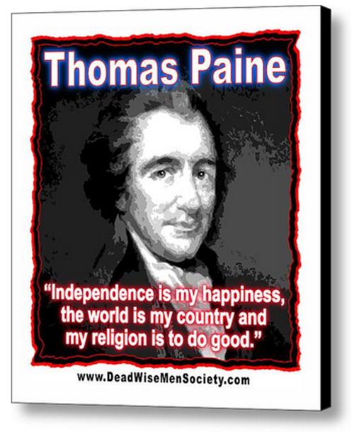 Thomas Paine Quotes: Thomas Paine Quotes. QuotesGram