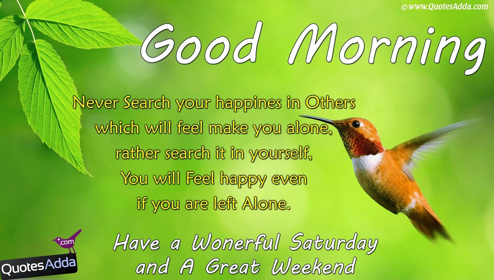 Best Good Morning Quotes Quotesgram: Good Morning Saturday Quotes. QuotesGram