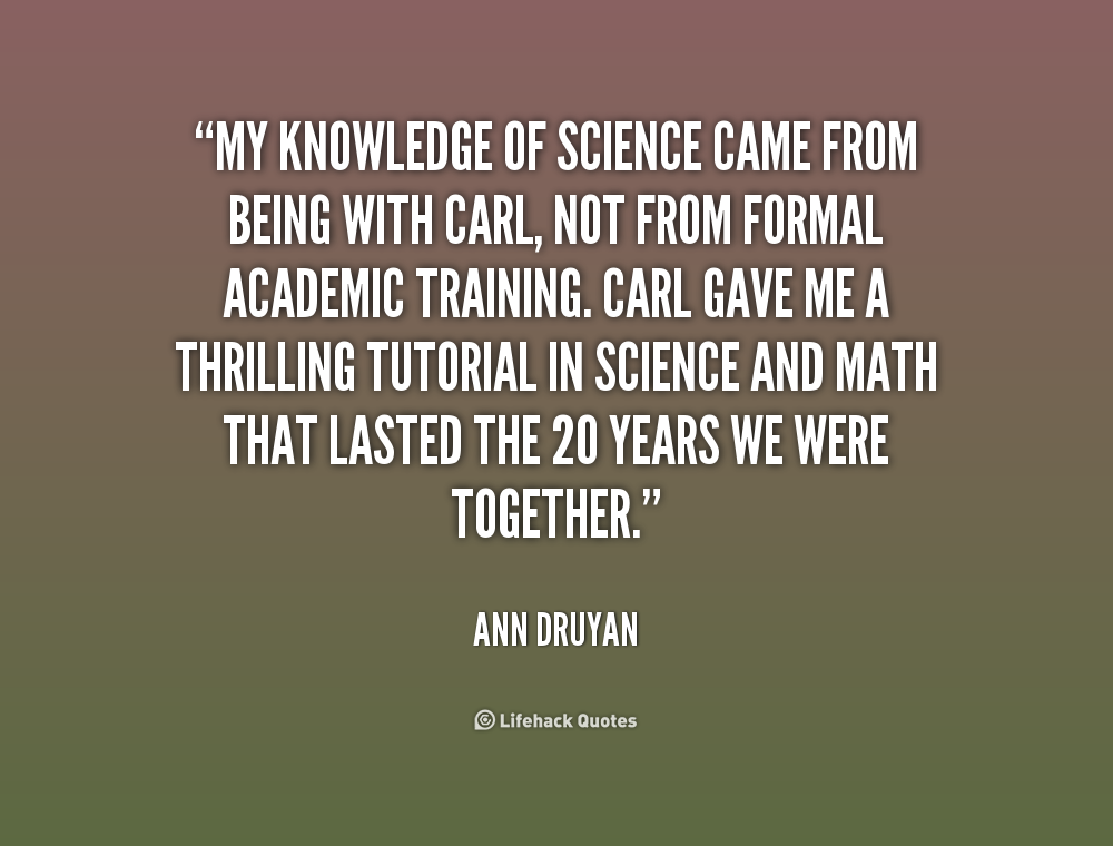 Computer Science Quotes Quotesgram: Ann Druyan Quotes. QuotesGram