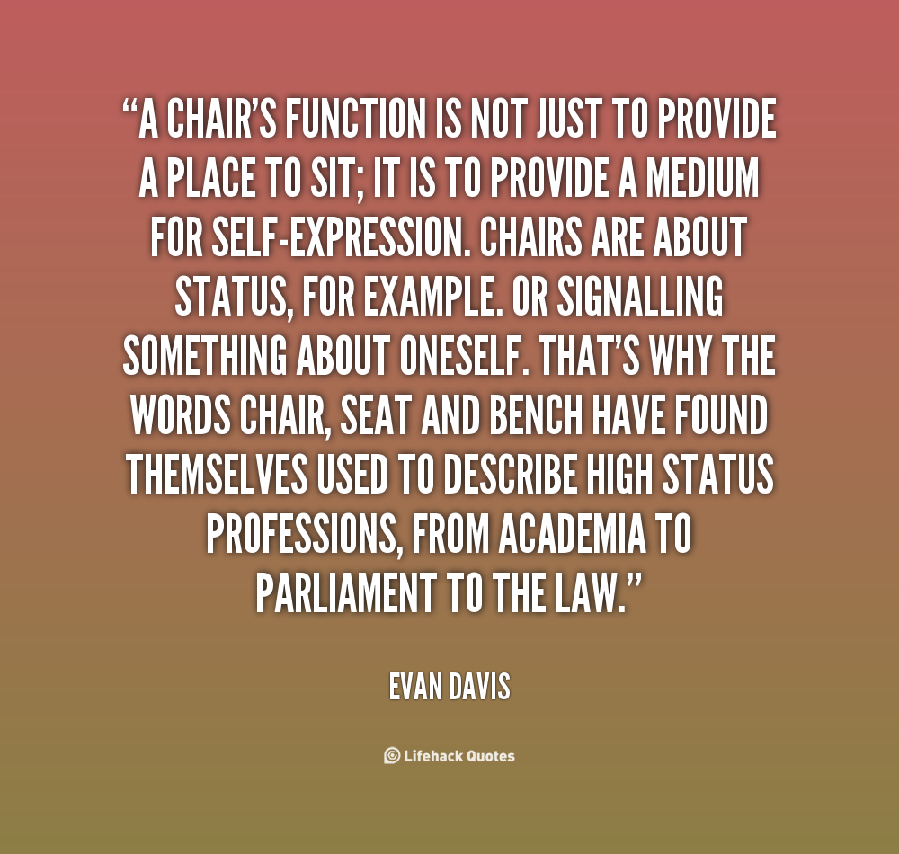 quotes about chairs quotesgram