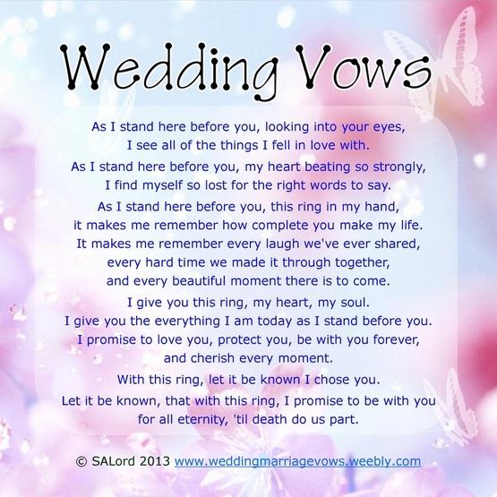 Marriage Vows Quotes. QuotesGram