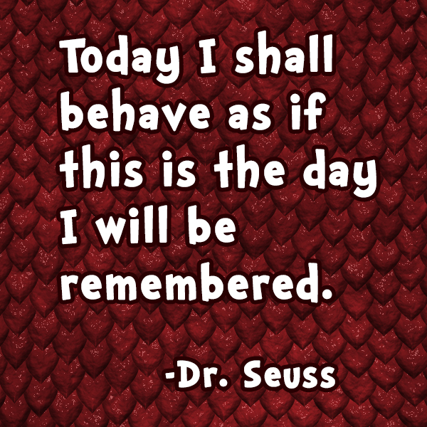 Dr Seuss Quotes On Behavior. QuotesGram