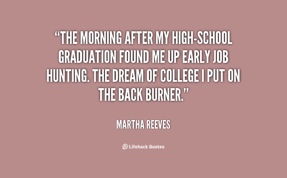 life after graduation Graduating from college is a major milestone what's next for you after college find key career, job search, life advice in this free article.