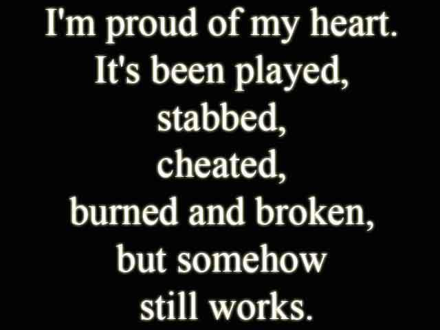 you broke my heart quotes for him - photo #29