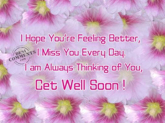 Hope For Better Days Quotes Quotesgram: Hope Youre Feeling Better Quotes. QuotesGram
