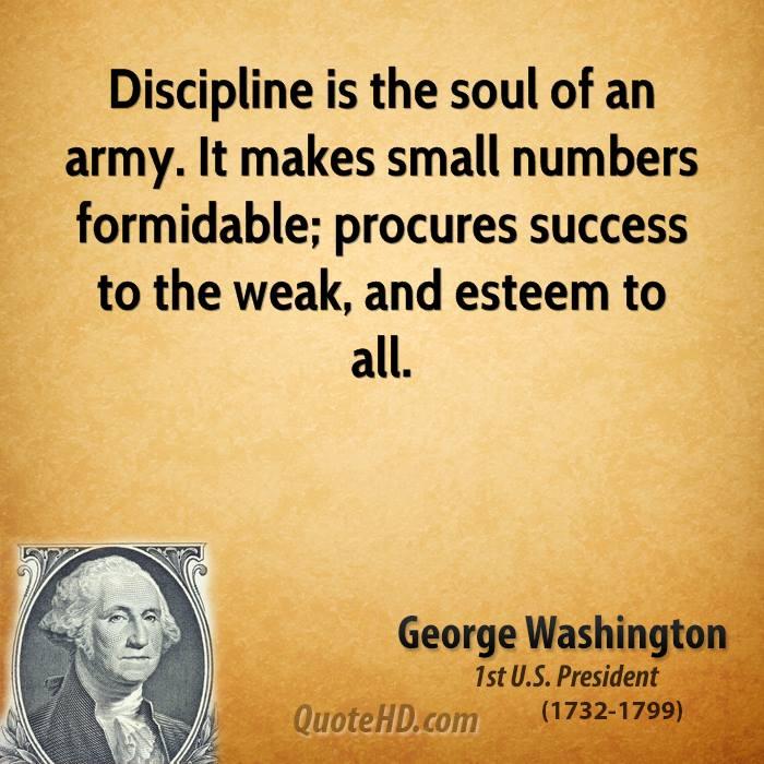 Inspirational Quotes Presidents: Military Discipline Quotes. QuotesGram