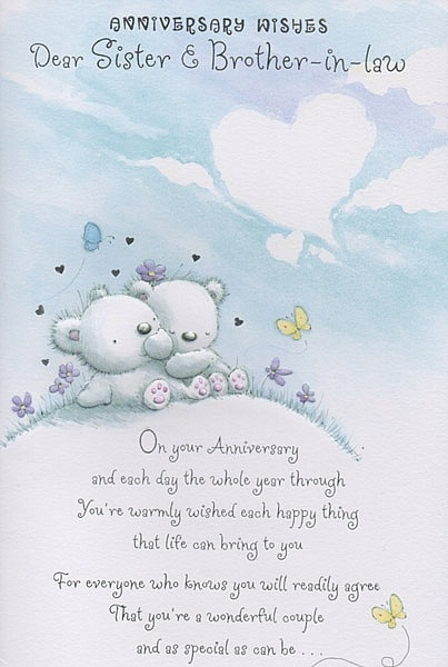 Happy Anniversary Quotes For Sister Quotesgram My sweet little brother, even after the 2 years of your marriage i still can't believe you are married. happy anniversary quotes for sister