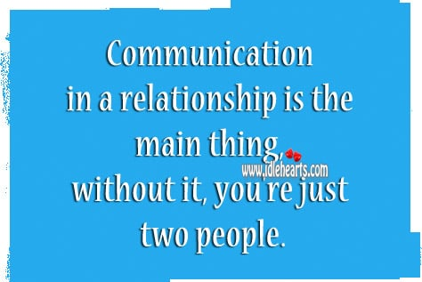 Communication in intimate relationships