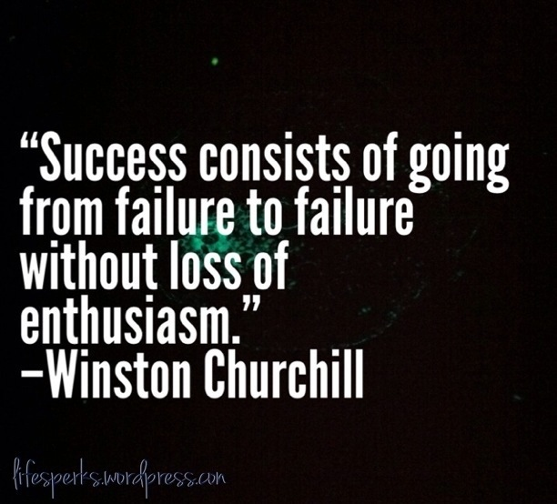 Inspirational Quotes About Failure: Quotes About Failing And Succeeding. QuotesGram