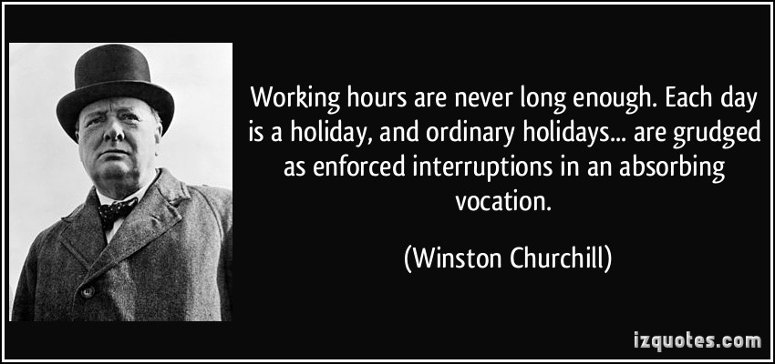 Winston Churchill Quotes About Work. QuotesGram