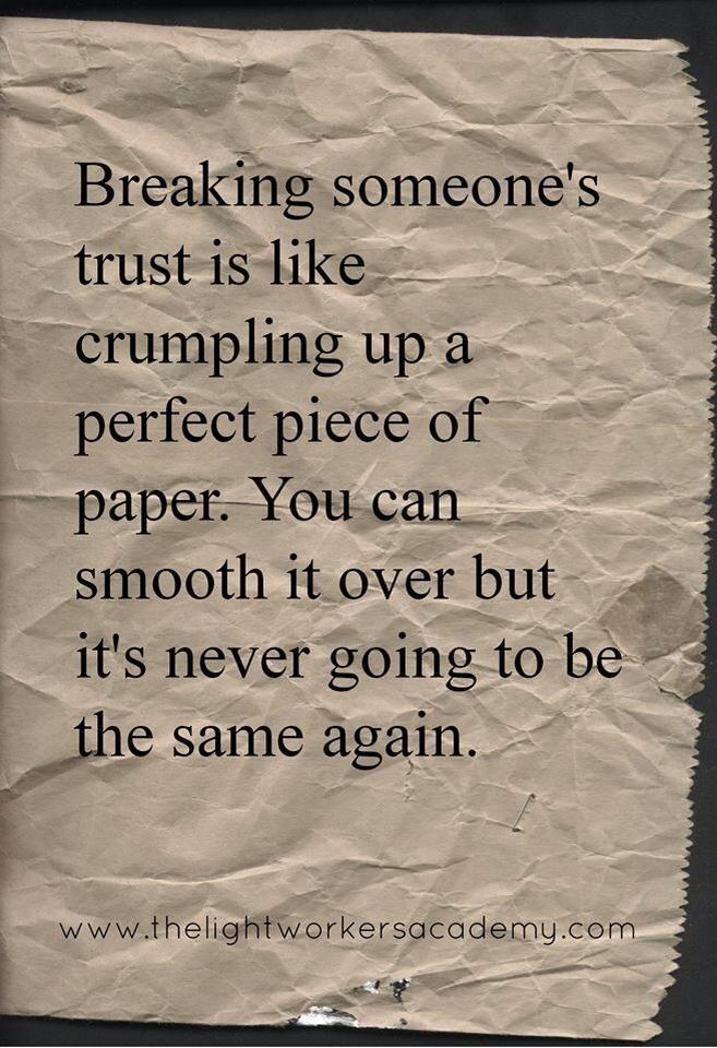 Trust In Relationships Quotes Metaphors. QuotesGram