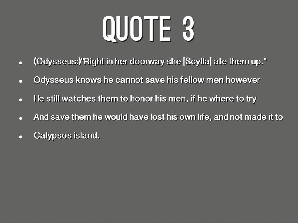 Deception in the odyssey essay
