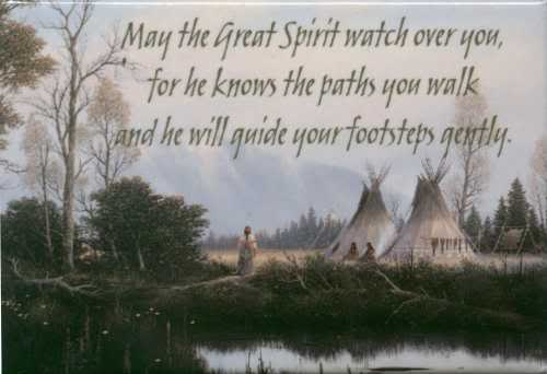 Native American New Years Quotes: The Great Spirit Native American Indian Sayings And Quotes