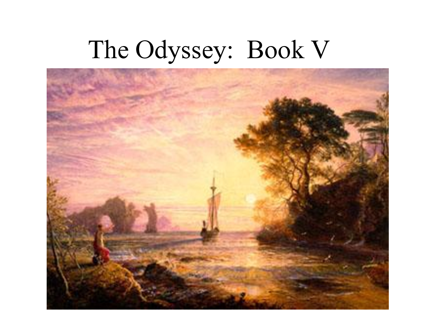 calypso book five of the odyssey