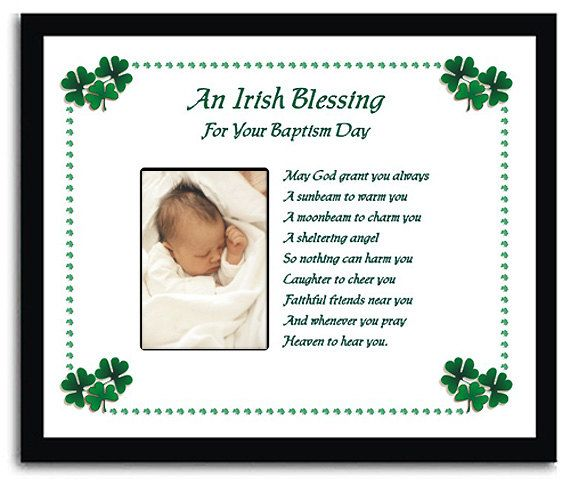 """Irish Blessing Baby Nursery Sign """"May by AndTheSignSays on ...  Irish Baby Blessing"""