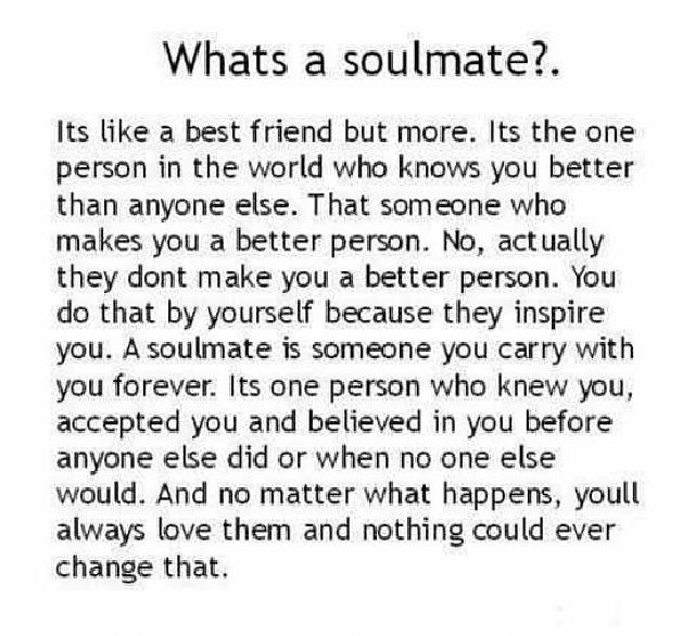 Are soulmate you my QUIZ: What's