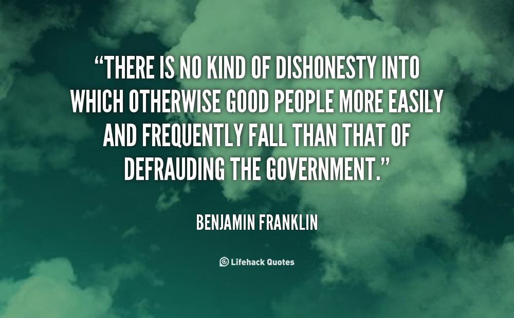 Dishonesty Quotes. QuotesGram