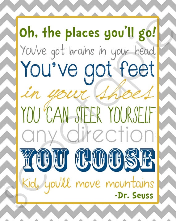 Oh The Places Youll Go Quotes For Graduation Quotesgram