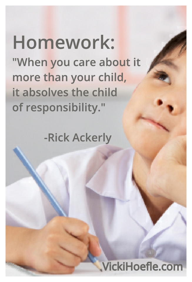 homework quotes from children