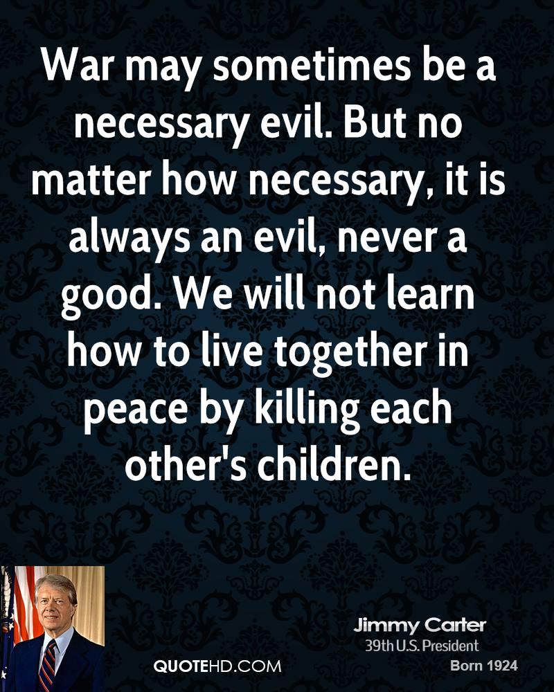 essays on evils of war