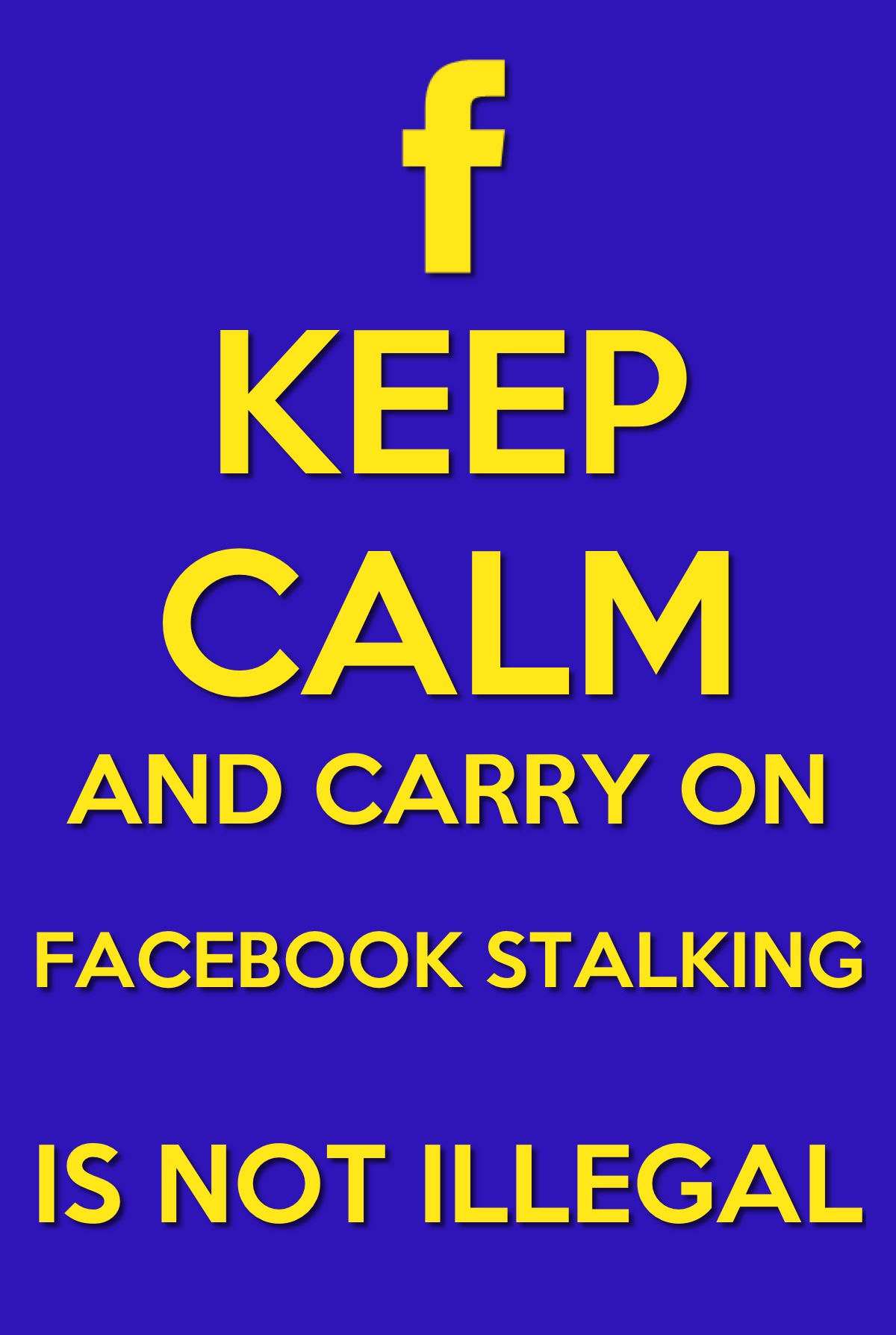 facebook stalkers Someone who is obsessed with someone else and stalks them on facebook not always traceable or noticable, but clues are: wall posts replying to every status update, viewing every posted.