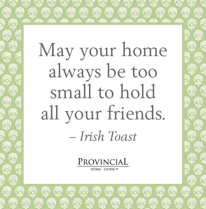 Irish Good Luck In Your New Home Messages