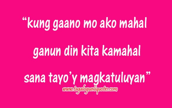 Love Quotes Tagalog Text Messages Quotesgram: Tagalog Love Quotes Inspirational. QuotesGram