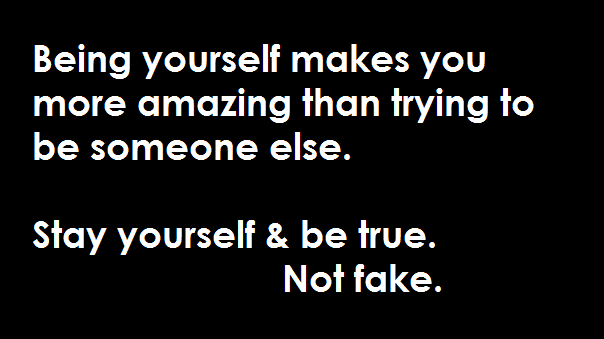 Stay True To Who You Are Quotes. QuotesGram