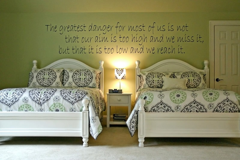 Teenage Bedroom Wall Quotes Quotesgram