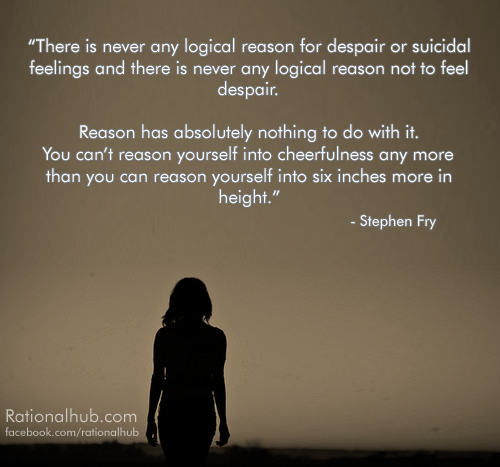 Quotes About Depression And Suicide: Quotes About Being Suicidal. QuotesGram