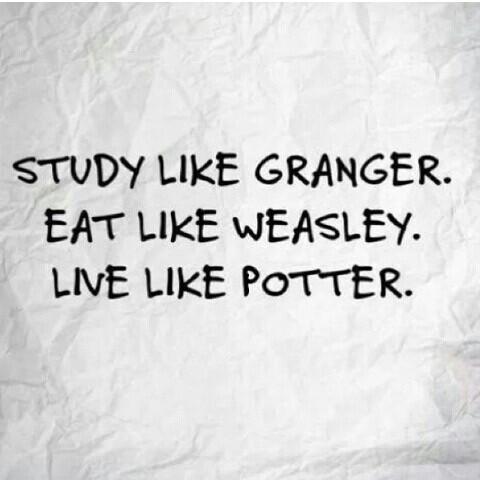 Harry potter study memes