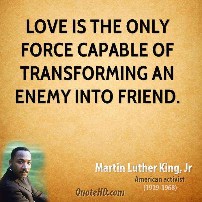 Quotes About Love: Martin Luther Quotes On Love. QuotesGram