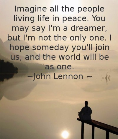 John Lennon Quotes Imagine. QuotesGram