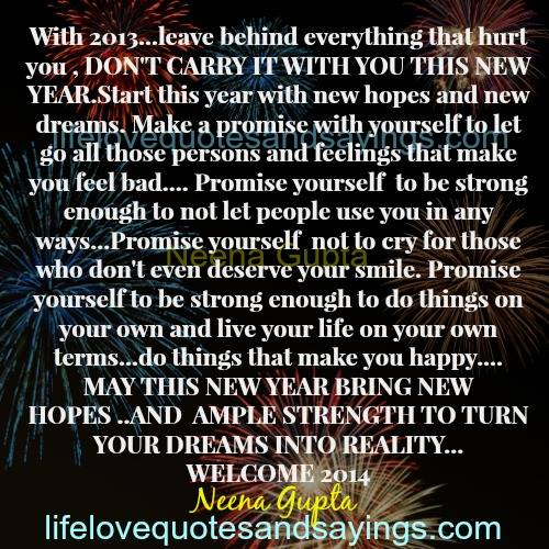 New Year Quotes For Life: New Year New Life Quotes. QuotesGram